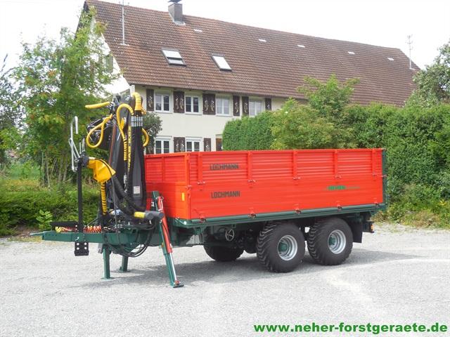 Außergewöhnlich Forstkipper mit Kran - Neher Forstgeräte &IM_69